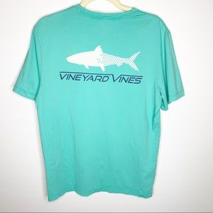 Men's Vineyard Vines Aqua Graphic T-Shirt